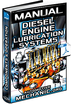 Manual: Diesel Engine Lubrication Systems - Components, Oil, Synthetics & Operation