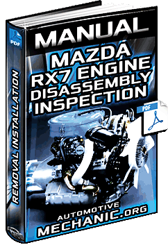Manual: Mazda RX7 Engine - Removal, Installation, Disassembly & Inspection