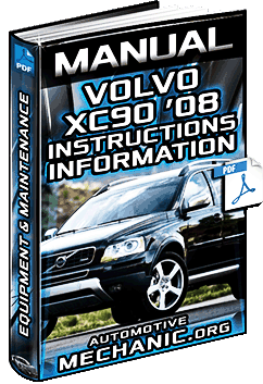 Owners Manual of Volvo XC90 - Equipment, Instructions & Maintenance Information