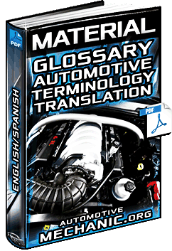 Download Glossary of Automotive Terminology English / Spanish Material