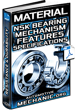NSK Bearing for Engines Material