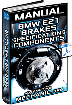 Manual: BMW E21 Series Brakes – Specs, Components, Remove, Install & Procedure