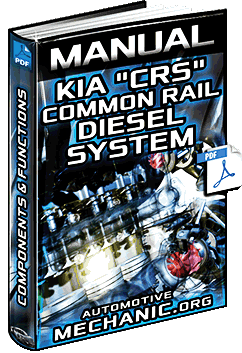 Kia Common Rail Diesel System - Injection, Diagrams & Components Manual