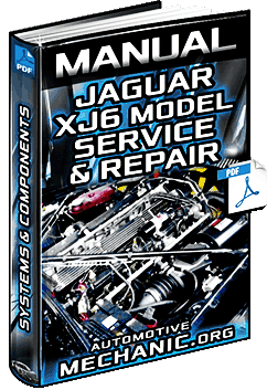 Jaguar XJ6 Car Service & Repair Manual – Engine, Systems, Electrical & Components