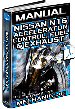 Manual: Nissan N16 Accelerator, Control, Fuel & Exhaust Systems – Inspection