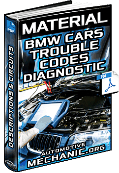 BMW Trouble Codes Specific & Generic – Descriptions, OBD II Diagnostic & Circuits