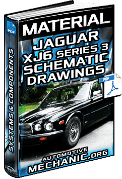 Jaguar XJ6 Series 3 Schematic Drawings – Head Controls, Indicators & Instruments