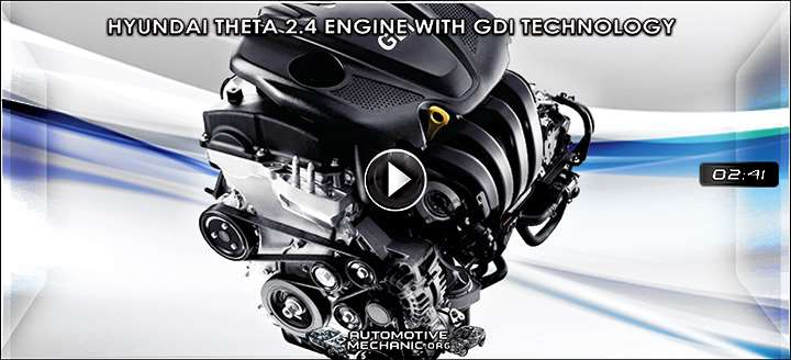 Video: Hyundai Theta 2.4 Engine with GDI (Gasoline Direct Injection) Technology